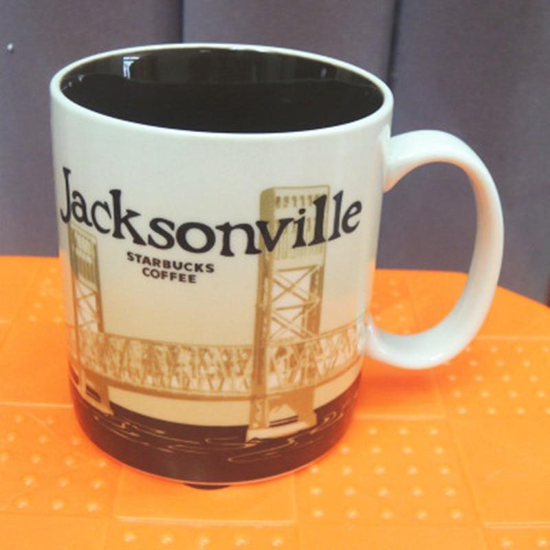 Solo 1 pc Jacksonville tazza tazza di ceramica tazze di caffè-in Tazze da Casa e giardino su  Gruppo 1