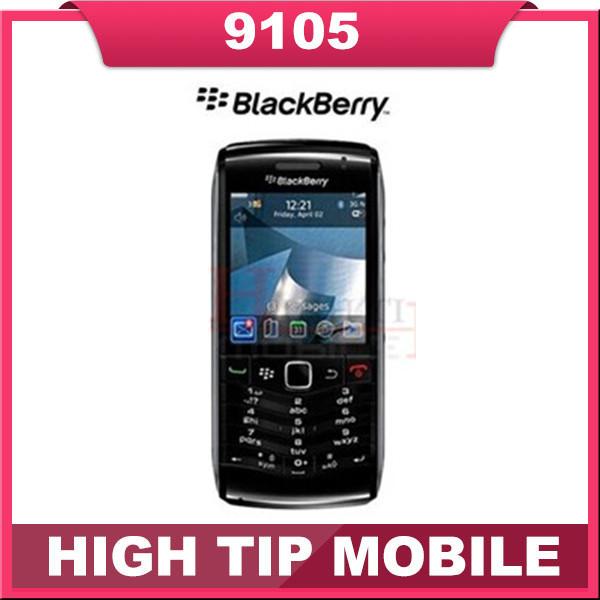 Reformado 9105 abierto original de blackberry pearl 9105 teléfono móvil del envío gratis