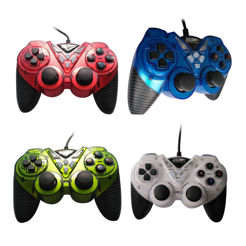 For Sega Style 100pcs Wholesale Classic 6 Buttons Usb Gamepad Game Controller Joypad Not For Sega For Pc Only