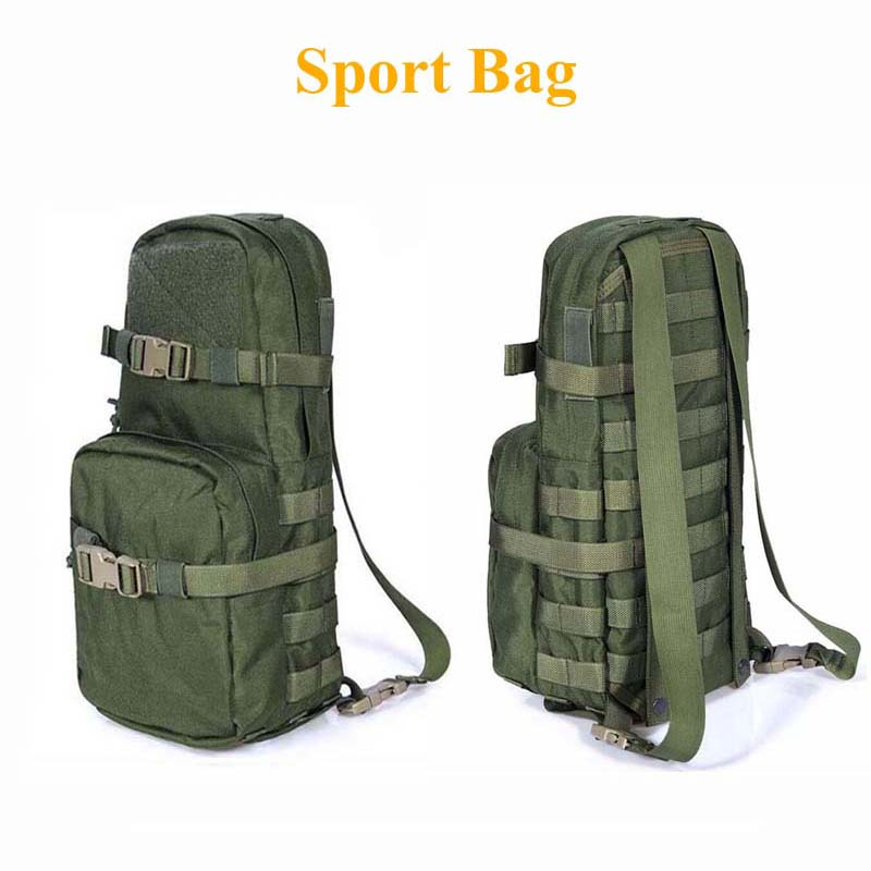 Outdoor Sport Bag Hunting Hiking Climbing Backpack Tactical Military Water Bottle Bag Kettle Pouch Camouflage Camping Backpack sports travel airsoft tactical knapsack camping climbing backpack 600d nylon hiking hunting vintage military bag camouflage