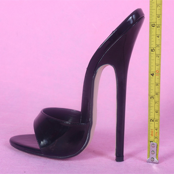 aef77e8fcd31 16CM Heel Height Sexy Round Toe Stiletto Heel Pumps Party Shoes US size 5- 13.5 No.130