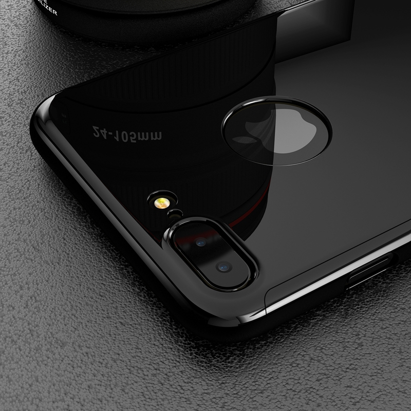 competitive price 1caa1 2c5d2 US $3.99 10% OFF|For iPhone 7 Plus Jet Black Case Bling Mirror Metal Ultra  Thin Luxury Cover For iPhone 6 6S 360 Full Protection Hard PC Plating -in  ...
