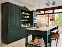 Новинка 2017 Современного Кабинета твердой древесины кухонные шкафы твердая деревянная кухонная мебель и кухни сует