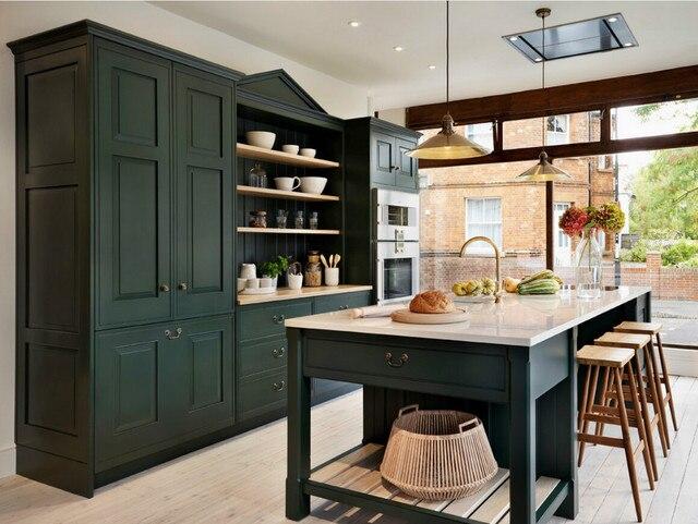 2017 nueva contemporáneo gabinete gabinetes de cocina de madera ...