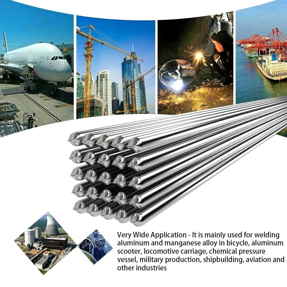 Легкие Алюминиевые сварочные стержни низкой температуры 5 10 20 50 шт 1,6 мм 2 мм нет необходимости припоя порошок WWO66