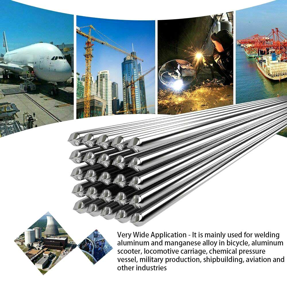 Easy Aluminum Welding Rods Low Temperature 5 10 20 50Pcs 1.6mm 2mm No Need Solder Powder WWO66