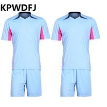 Footbal clothing Professional Soccer Referee Jersey Sets  Football Referee Judge Uniform Short Shirt Tracksuits Free shipping