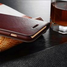Genuine Real Leather Wallet Card Holder Flip Case Cover for iPhone & Samsung Galaxy S6 S6 Edge Plus S5 S4 S3 Galaxy NOTE5 4 3 2