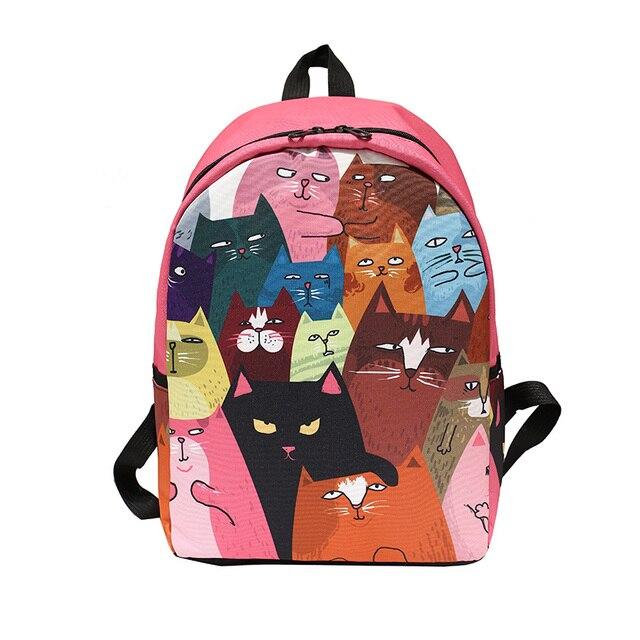 Cat School Bag Pack