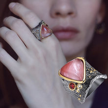 Женское кольцо с большим треугольником Новое Очаровательное