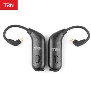 Image 4 - TRN BT20S AptX/AAC Apt X Bluetooth 5.0 หูฟัง MMCX/2Pin หูฟังบลูทูธอะแดปเตอร์สำหรับ SE535 KZZSN/ZS10/AS16 TRN X6 NICEHCK F3