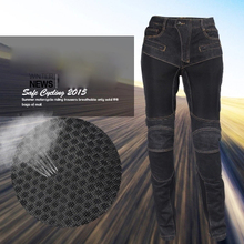 NEW Motorcycle Jeans Pants Men Racing Motorcycle Pants Protection Racing Off-Road Knee Protective Motocross Pants Trousers M-4XL