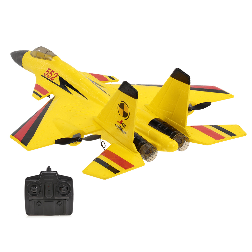 FX-861 2.4G 2CH 480mm Wingspan Remote Control Fighter Fixed Wing Light EPP RC Airplane Aircraft RTF RC Toys eboyu tm volantex rc tw781 cessna 2 4g 2ch rc airplane 200mm wingspan mini epp infrared remote control indoor drone aircraft