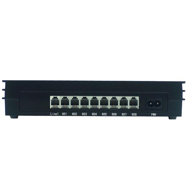 Sistema de teléfono/simple PABX/PBX oficina/MS108/1 línea PSTN 8 extensión/con transferencia de Llamadas ID