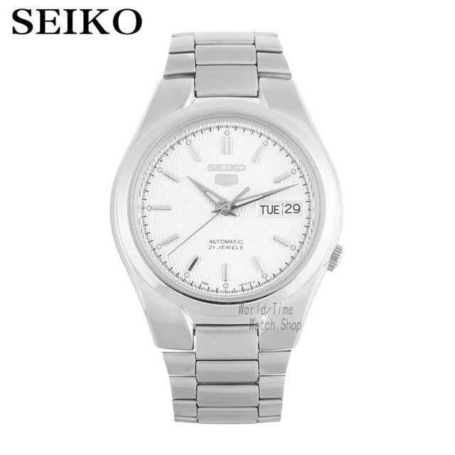 1342db1e2a9b Reloj SEIKO 5 automática de moda reloj mecánico reloj hombre SNK605K1  SNK601K1 SNXG47K1