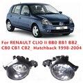 Para RENAULT CLIO II (BB0 BB1 BB2 _ CB0 CB1 CB2 _ Hatchback 1998-2004 Luzes de Nevoeiro Da Frente luz para carros B6A508990A 261508990A 4419375