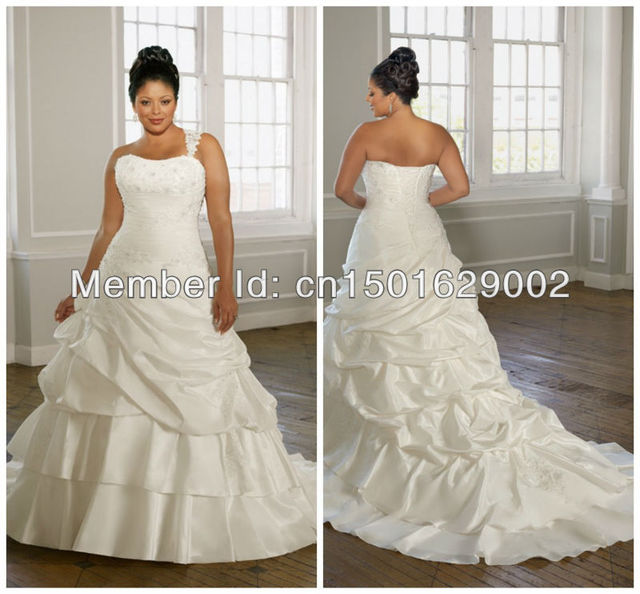 ph0891 Radiant Taffeta with Alencon Lace. Removable Lace one ...