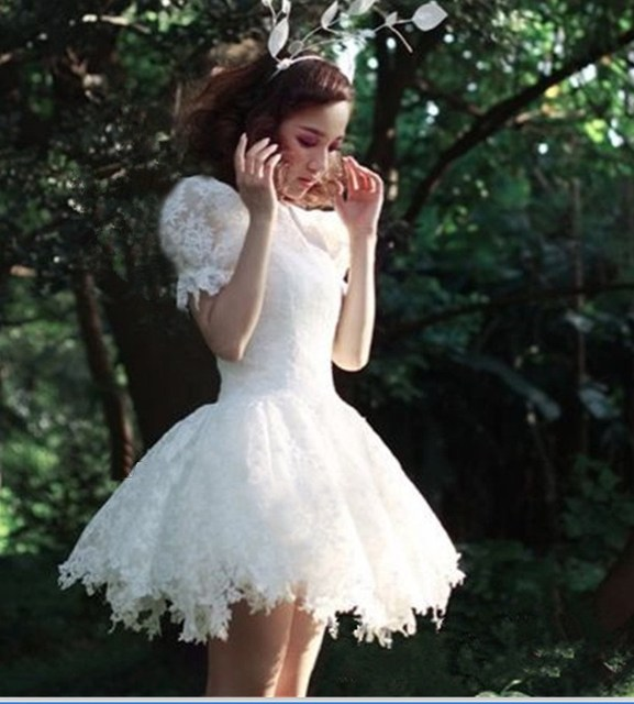 Cute Mini Wedding Dresses