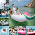 inflatable Unicorn Giant Pool Float Swimming Float for Adult Tube Raft Kid Swim Ring Summer Water Fun Pool Toy 275*110*130CM