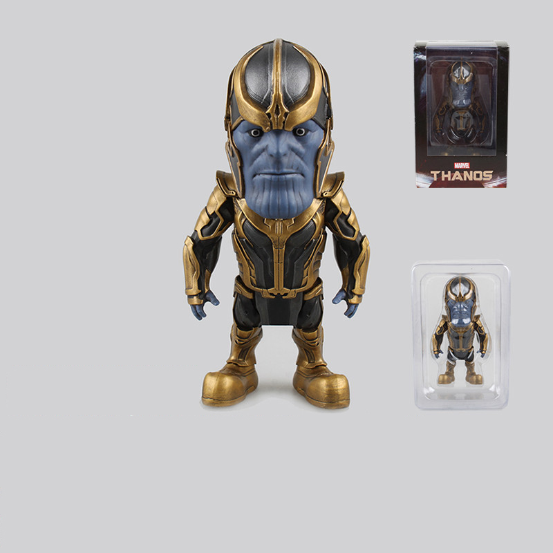 guardians of the galaxy thanos pvc action figure 13cm