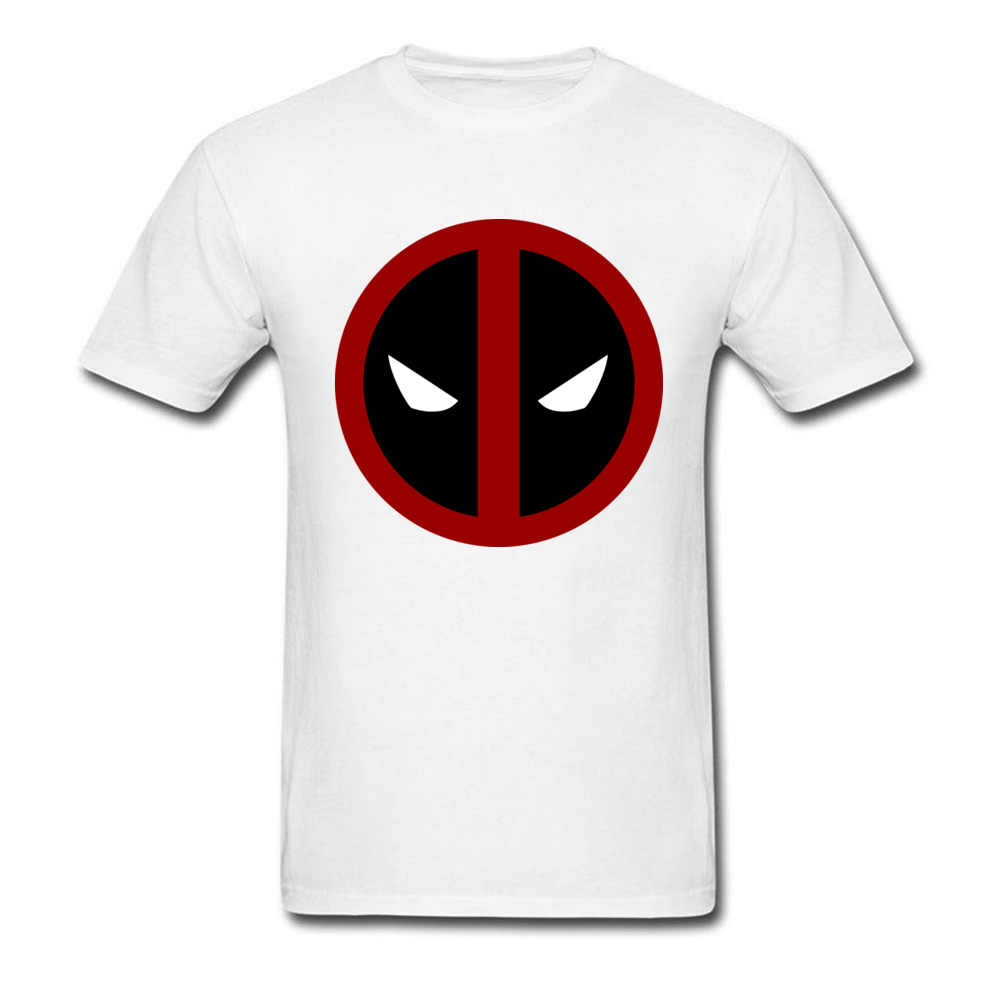 6488fc169 ... Classic Deadpool 2018 Funny Marvel T Shirt Simple Logo Printed Mens Own  Hero T-shirt ...