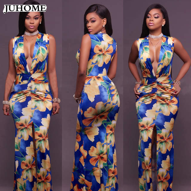 d18b48f26857 placeholder high quality long Prom event formal dress 2018 sexy Women's  Tunic clothes sexy vintage maxi dress