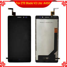 цена на Original LCD display Touch Screen digitizer For ZTE Blade V2 Lite A450 Touchscreen Panel Sensor Lens Glass Free tracking number