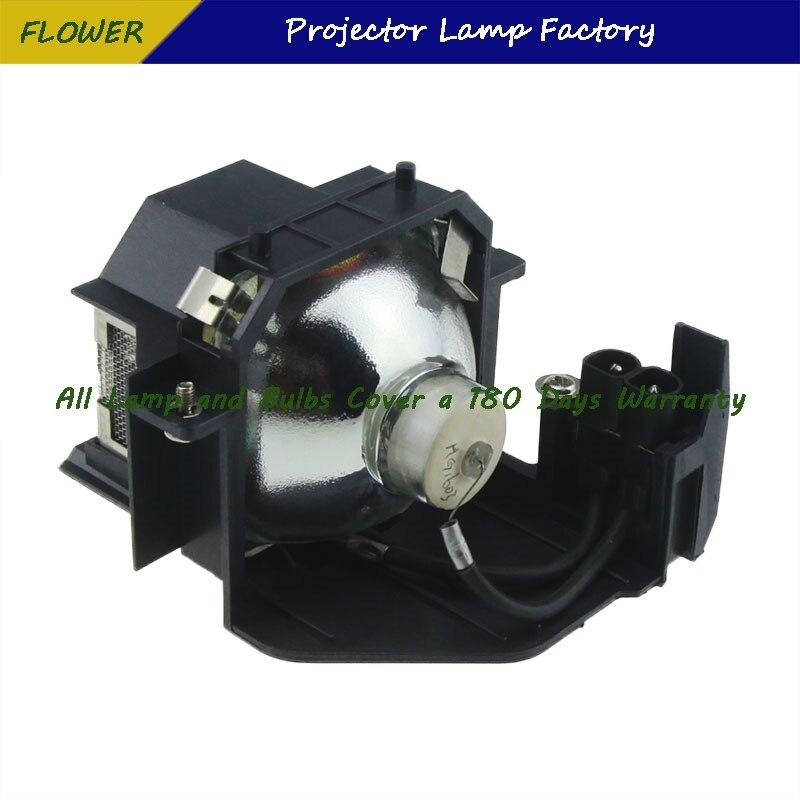 עופרות ELPLP34 V13H010L34 מותג חדש מקרן Bare מנורה עם דיור ForEPSON EMP-62 / EMP-62C / EMP-63 / EMP-76C / EMP-82 / EMP-X3 (2)