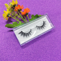 Cruelty free Volume eyelashes 3D Mink Lashes Full top quality 100% real 3d mink strip false eyelashes free shipping