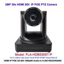 1080 p HDMI 3G SDI 60Fps 30X zoom quang học HD IP POE Máy Ảnh cho hội nghị truyền hình