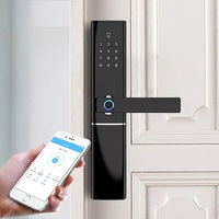 WIFI Fingerprint Lock,Keyless Electronic Biometric Fingerprint Smart APP Bluetooth Door Lock
