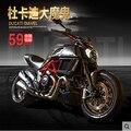 Diavel Duca ti Maisto 1:12 Simulación de Aleación Modelo de La Motocicleta Locomotora coche juguetes regalos envío gratis Colección de coches Clásicos