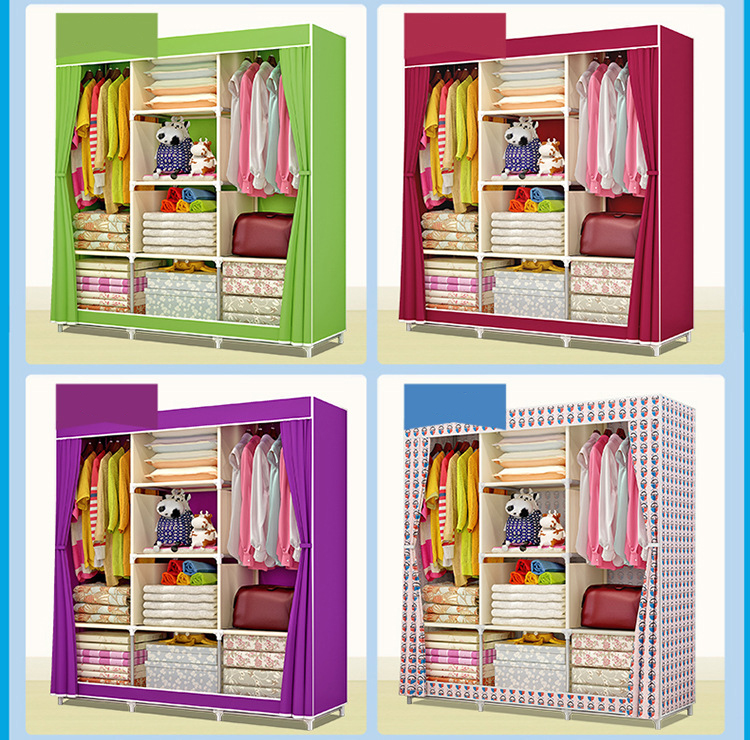 Stop118 Cabinet Storage Fabric 6