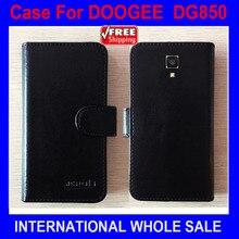 Для HITMAN DG850 чехол телефон DOOGEE Флип кожаный чехол Импортные высококачественные материалы эксклюзивный чехол Для DOOGEE HITMAN DG850