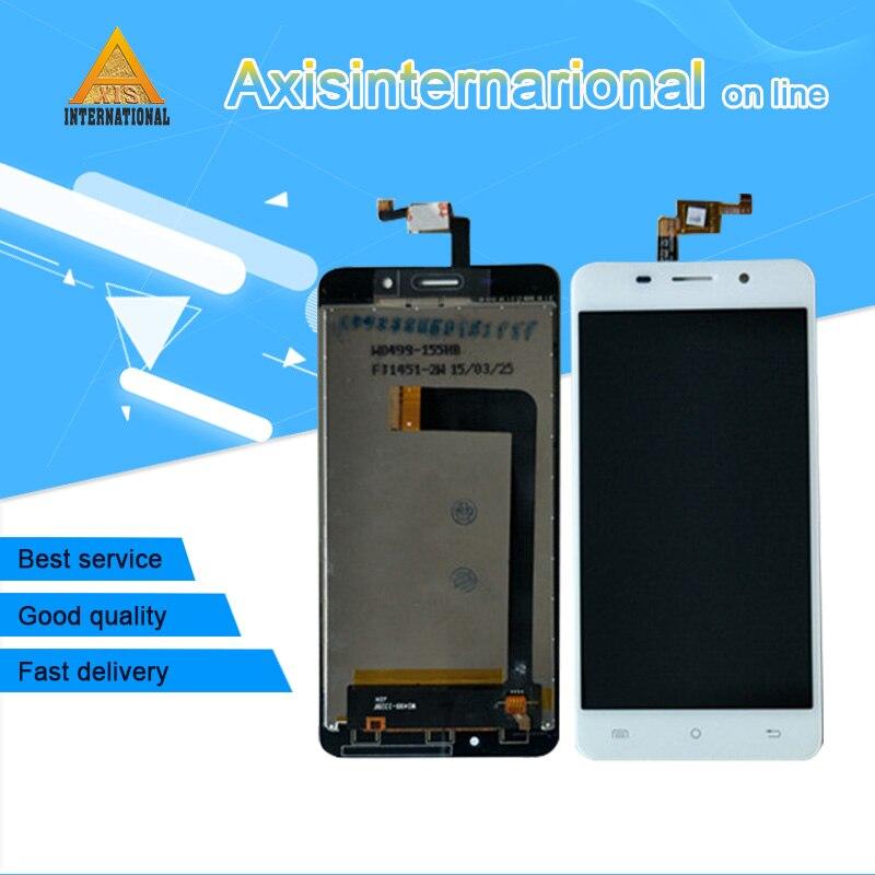 D'origine Axisinternational Pour 5.0 Cubot X9 écran lcd display + écran tactile numériseur de panneau Noir/blanc livraison gratuite