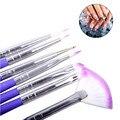 7pcs/set Luxury Nail Art Design Brushes Set Painting Pen Polish Tips Nail Brush Nail Pen JAN16