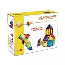 Магнитные игрушки 32 шт Строительный Плитки блоки Кирпич Дети Обучающая машина Детский подарок игра стройка укладки комплекты