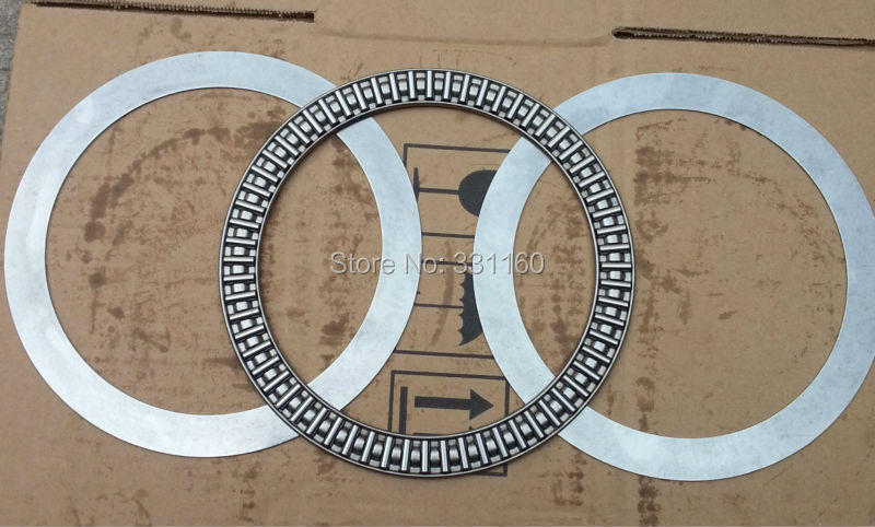 889130,150X190X5 /7mm AXK150190+2AS Thrust Needle Roller Bearing With Two Washers Each