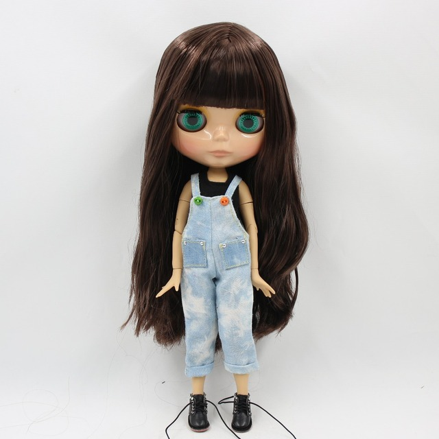 TBL Neo Blythe Doll Brown Hair Jointed Body