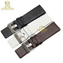 Genuine leather bracelet watchband for diesel watch strap wr
