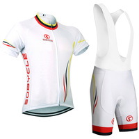 UCI cycling Season White color TEAM pro cycling jersey 9D gel pad bike shorts set Ropa Ciclismo summer bicycling Maillot wear