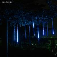 NRW COB LED Meteor Shower 50CM High Quality 2835 Patch Underwater Rain Light Festival Meteor Rain Decorative Light Tube