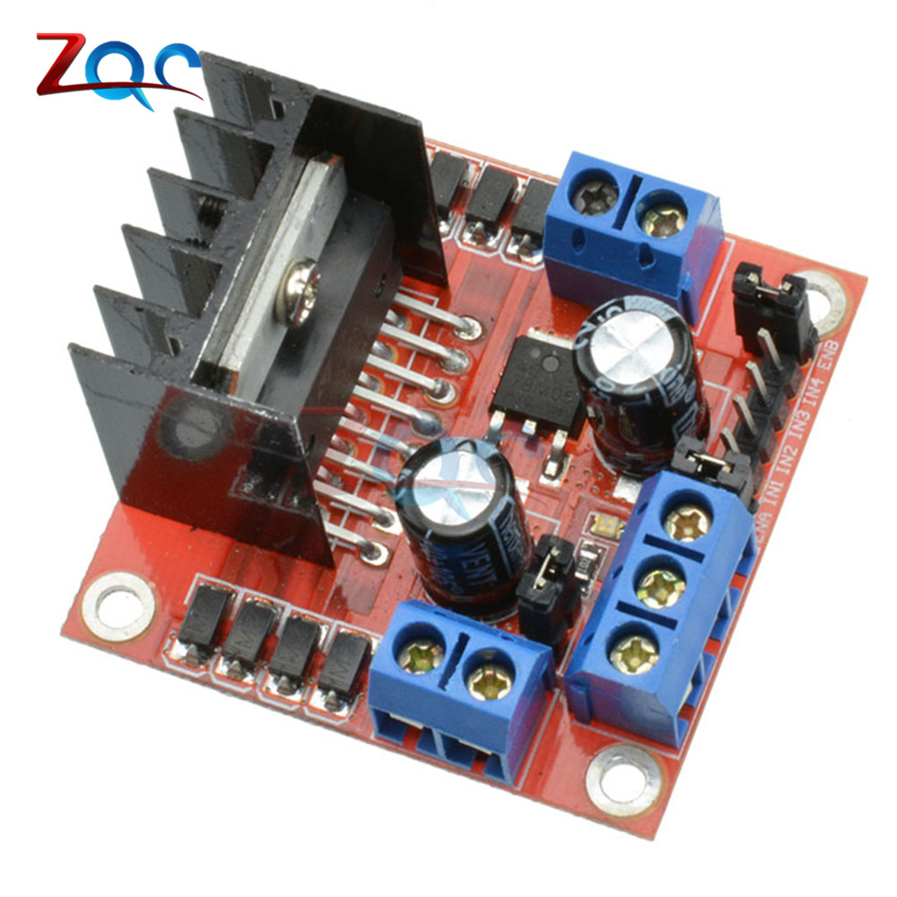 Stepper Motor Drive Controller Board Module L298N Dual H Bridge DC Motor Driver Module For Arduino Dual Channel