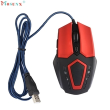 Adroit 2016 New 3200 DPI Gaming LED Wired 6 Buttons Mouse For PC Laptop Muis 11S60921