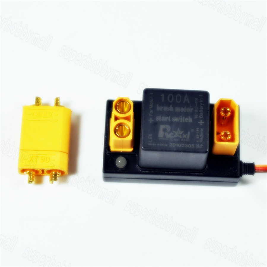 Rcexl 100a Brush Motor Start Electronic Switch Of Relay V10 For Dle Electric Eme 35 55 In Parts Accessories From Toys Hobbies On Alibaba Group