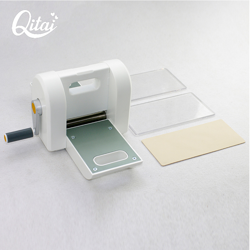 Original QITAI Scrapbooking Cutter Piece Die Cut Paper Cutter Die-Cut Machine Home DIY Embossing Dies Tool cutting machine 01