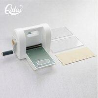Oryginalny QITAI nóż do scrapbookingu kawałek Die Cut gilotyna do papieru Die-maszyna tnąca domu DIY szablony do wytłaczania narzędzie maszyna do cięcia 01