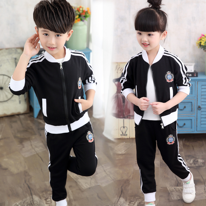 Girls Suits 2017 Spring Autumn baby boys Clothes toddler girl Children clothing Sets School Kids Sport suit coat+pants 2pcs/set 15 free shipping top striped dress children baby 3 pcs suit set girl s clothing sets girls sport suits chilren set