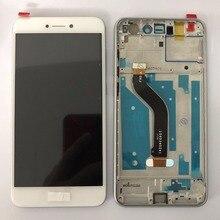 Лучшие Рамка для Huawei Honor 8 Lite ЖК-дисплей дисплей + Сенсорный экран планшета для honor8 lite Высокое качество сборки без для Honor 8