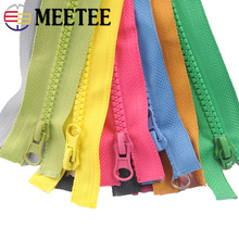 5pcs Meetee 5# Resin Zipper Open-end 70cm Long for Sewing Zip Jacket Coats Pocket Clothing Garment Accessories DIY Tools